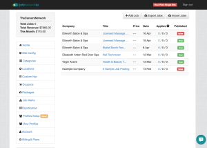Intuitive Admin Panel